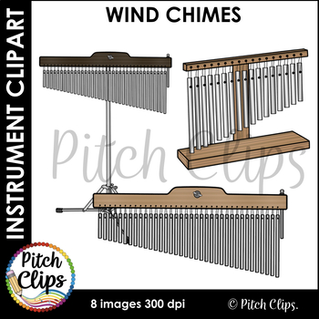 Wind Chimes Clipart (Clip art) - Commercial Use, SMART OK!