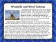 Wind Turbines Informational Reading and Make a Wind Turbin