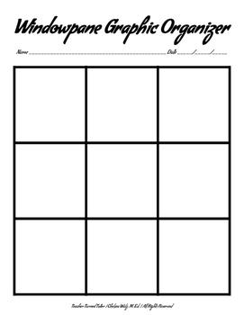 Windowpane Graphic Organizer