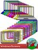 Windows / Screens Border / Frame Clip art