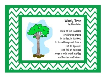 Windy Tree by Aileen Fisher Printables Pack