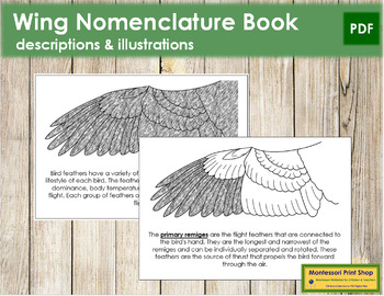 Wing Nomenclature Book