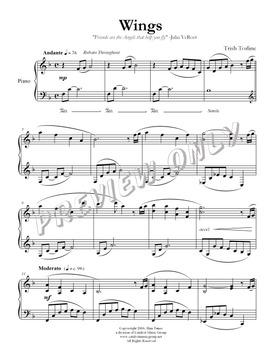 Wings - Piano Solo