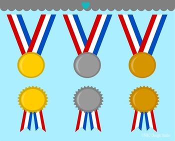 Winner Medals Clip Art