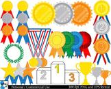 Winner Medals Digital Clip Art Graphics 69 images cod91