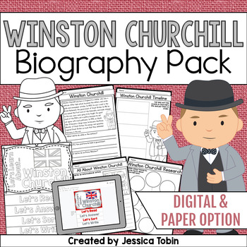 Winston Churchill Biography Pack
