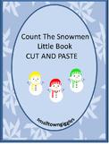 Winter Math Cut and Paste Little Book