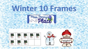 Winter 10 Frames - A FREEBIE
