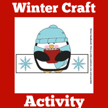 Winter Activities | Winter Craft | Winter Penguins | Winte