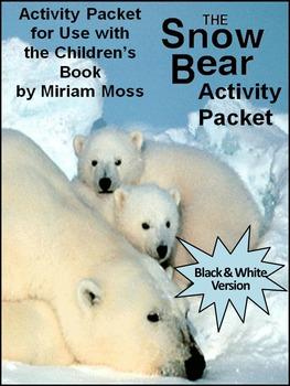 Winter Reading Activities: The Snow Bear Winter Activity Packet