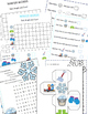Winter Words,  Learning Cube and Graphing Activities, Wint
