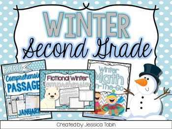 Winter 2nd Grade Bundle
