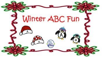 Winter ABC Fun - Letters