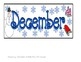 Winter ABCD Pattern Calendar- Pieces