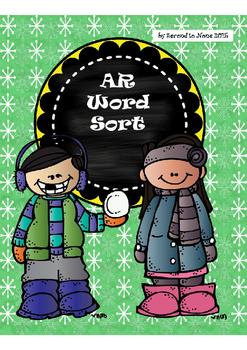Snowy AR Word Sort