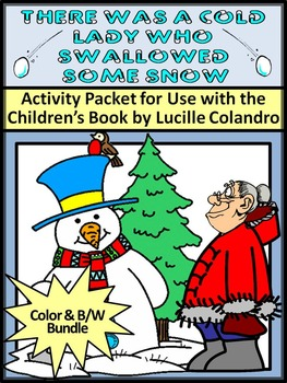 Winter Activities: There Was A Cold Lady Who Swallowed Som