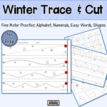 Trace and Cut Winter
