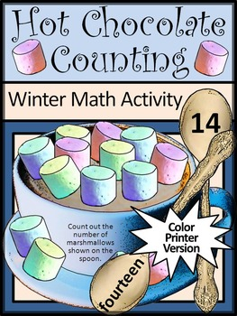 Winter Math Activities: Hot Chocolate/ Hot Cocoa Counting