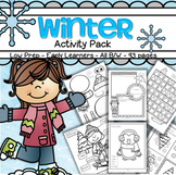 Winter Activities and Printables NO PREP for Preschool and Pre-K