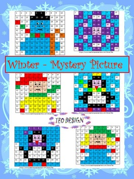 Winter Activities Addition and Subtraction Worksheets - Wi