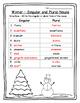 Winter Activities Grammar Winter Singular & Plural Words W