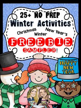 Winter Activity FREEBIE! 3 Fun Winter Activities!