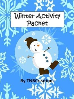 Winter Language Arts Writing Activities
