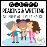 No Prep Winter Literacy Activity Packet