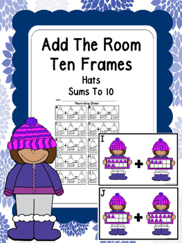 Winter Add The Room (Ten Frame Hats)