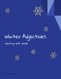 Winter Adjectives: Painting with Words
