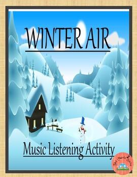 Winter Air-   A calm brain break!  FREE during this freezing day!