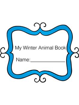 Winter Animal Activity Book