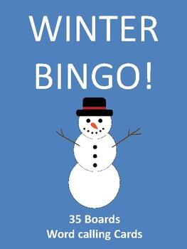 Winter BINGO!