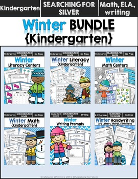Winter BUNDLE {Kindergarten}