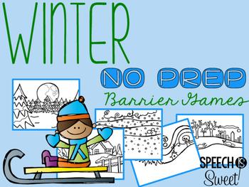 Winter Barrier Games {NO PREP}