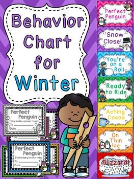 Winter Behavior Chart