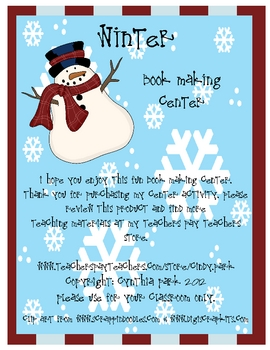 Winter Book Making Center