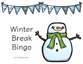 Winter Break Bingo