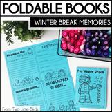 Winter Break Memories-Foldable Book Activity