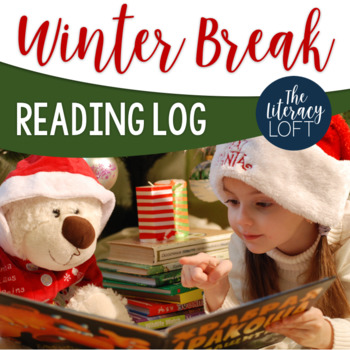Winter Break Reading Log- Cozy up with a good book!