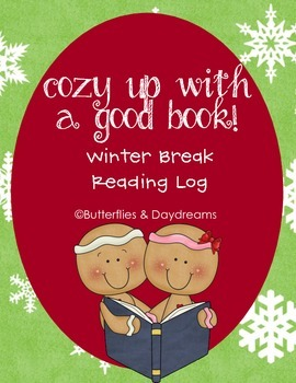 Winter Break Reading Log-Cozy up with a good book!
