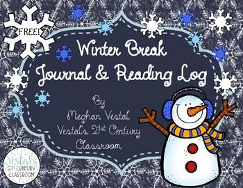 Winter Break Reading Log & Journal