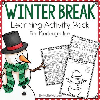 Winter Break Activity Pack