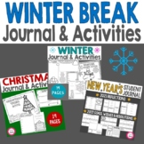 Winter Break Think Book Guided Journal Bundle