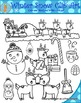Winter Holiday Clipart (Christmas)