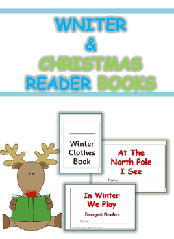 Winter & Christmas Reader Book