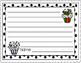 Winter, Christmas and Hanukkah Lined Writing Paper-Landsca