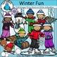 Winter Clip Art Bundle - Chirp Graphics