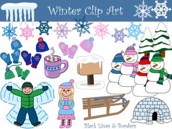 Winter Clip Art Collection