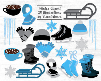 Winter Clip Art Graphics